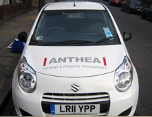 Cut Vinyl Vehicle Graphics London